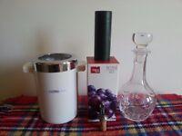 Wine accessories.