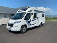 2017 SWIFT ESCAPE 664 4 BERTH FIXED BED MOTORHOME WITH ONLY 20K MILES ANDERSON MOTORHOME SALES