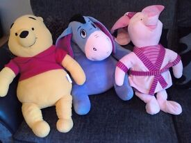 winnie the pooh soft toys large size