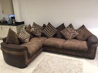 Left hand facing corner sofa - Malibar DFS sofa