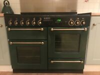 All gas Leisure Rangemaster 110 model, cooker and ovens