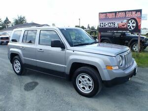 2014 Jeep Patriot SPORT!! NORTH!! CERTIFIED!