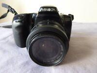 Minolta Dynax 500si Camera