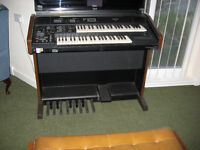Technics Organ,Double Manual,Peddles,Good condition.FREE,