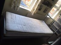 single bed and mattress for sale, great condition