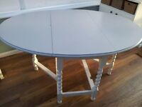 Shabby Chic Painted Dining table