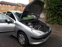 Peugeot 206 LX 1.2! MOT till end of OCTOBER! Cheap Insurance! No Extra Costs!
