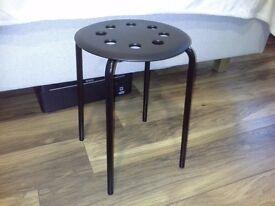 Ikea stool - brand new black