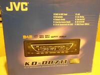 DAB/FM/MW/LW STEREO CAR RADIO & CD PLAYER BY JVC