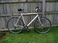 "Peugeot, Hybrid Cycle,23.5""60cm,Frame,700c Alloy Wheels, FULLY SERVICED."