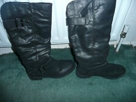 Womens boots 3 pairs