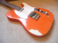 Possibly the ugliest Tele on Gumtree. Telecaster project