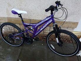 Muddyfox mountain bike 24inch, fitted with shwalbe marathon tyres