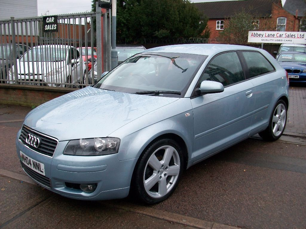 audi a3 2 0 tdi sport 3dr 2004 04 reg hatchback service history full mot diesel silver. Black Bedroom Furniture Sets. Home Design Ideas
