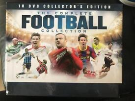 The complete football collection dvd set