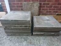 23 Paving slabs 600 x 600x 50