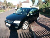 2004 Volkswagen Touran 2.0 TDI Sport Sport MPV 5dr (7 Seats) @07445775115
