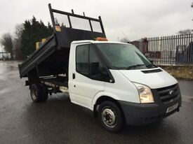 Ford transit tipper pick up 2011 model 2.4 tdci 6 speed 1 owner service history drives excellent