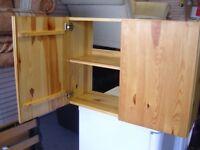Solid Pine Kitchen Cupboard