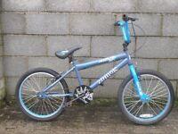 blue bike bmx 20''