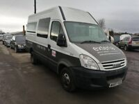 Iveco daily spare parts available tween axel rear spring wheels