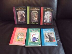 6 books as seen in pics collect or deliver Stonehaven