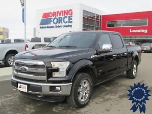 2016 Ford F-150 Lariat FX4 4x4 w/Power Running Boards, 38,593 KM