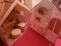 Rose petal cottage kids playhouse