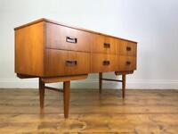 Retro teak sideboard - Vintage Chest of drawers danish mid century
