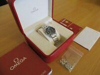 BEAUTIFUL CONDITION Omega 28mm Seamaster Professional 300M Ladies Wrist Watch