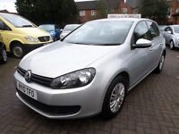 Volkswagen Golf 1.4 S 5dr 2010 (10 REG), ONLY 83000 MILES WITH SERVICE HISTORY, SILVER