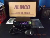 ALINCO DR-135DX BOXED WITH MICROPHONE,BRACKET,POWER LEAD SOFTWARE AND PROGRAMMING LEAD