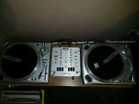 Numark Decks and mixer
