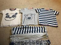 Boys Next pyjamas set of 3 £3