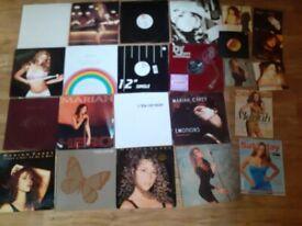 28 x mariah Carey vinyl / music box LP xmas