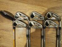 Adams Idea A7 Golf Irons and Hybrid Set.