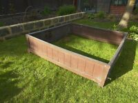 Raised beds, strong plastic design