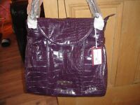 valentino purple handbag (PERFECT FOR MOTHERS DAY GIFT)