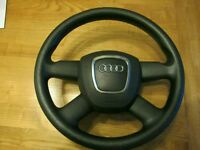 Audi Steering Wheel & Airbag will fit : A3, A4, A5, A6, A8