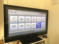 50 inch LG plasma flat screen TV