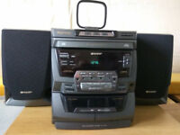 Sharp CD-C470 Mini Component Stereo System