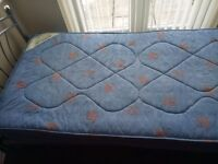 Single bed with mattress £15