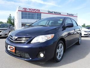 2013 Toyota Corolla LE TOYOTA CERTIFIED PRE OWNED