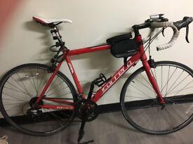 Red Carrera Zelos, Bike, Phone Bag, Lights, 2 Bike Locks, Bike Pump, Helmet