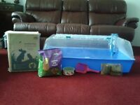 Guinea Pig Indoor Cage with accessories