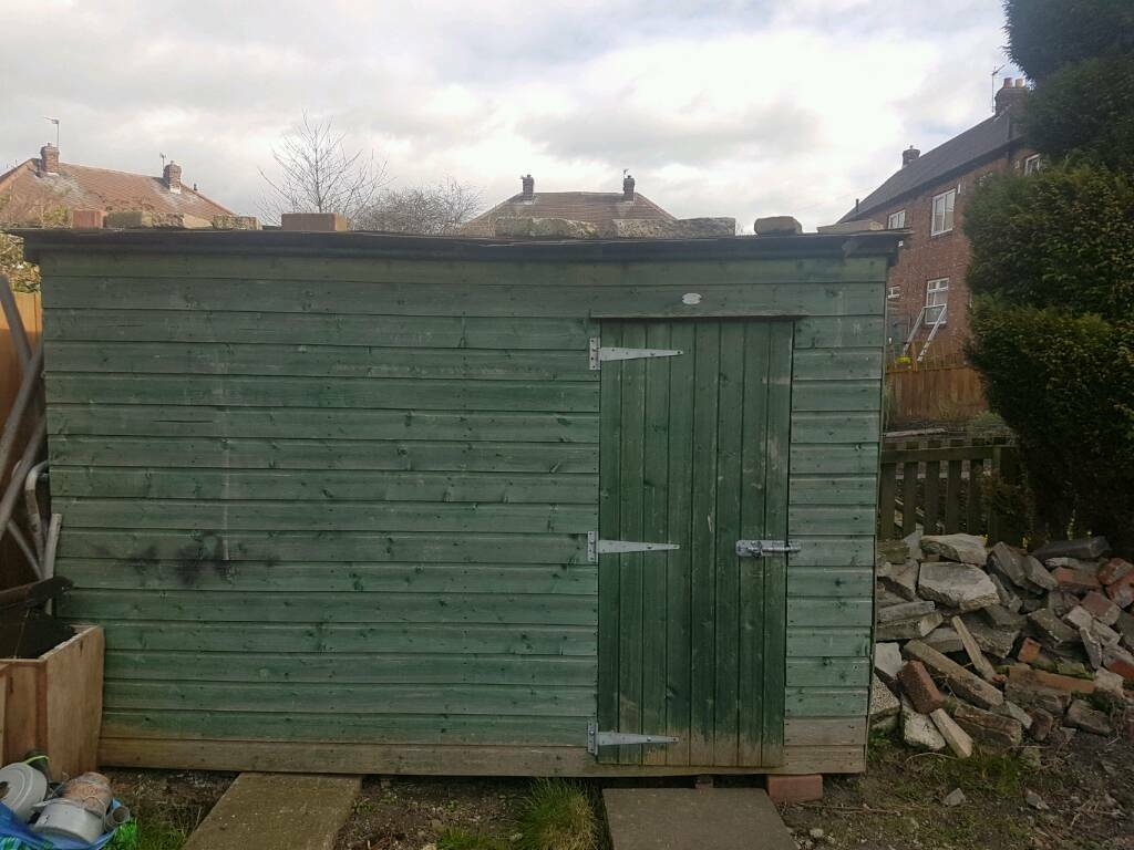 Garden Sheds Jarrow garden shed 10ft x 6ft x just under 7ft high | in jarrow, tyne and