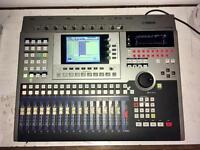 Yamaha AW4416 16 channel mixing console w/flight case