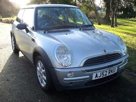 Mini One 1.6 Brand New Mot, Good Condition, Drives Very Well, Metallic Silver