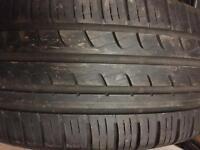 215 40 17 Pirelli tyre 7mm