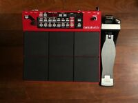 Nord Drum 3P Drum Modelling Percussion Synth + Roland KT-10 Kick Pedal